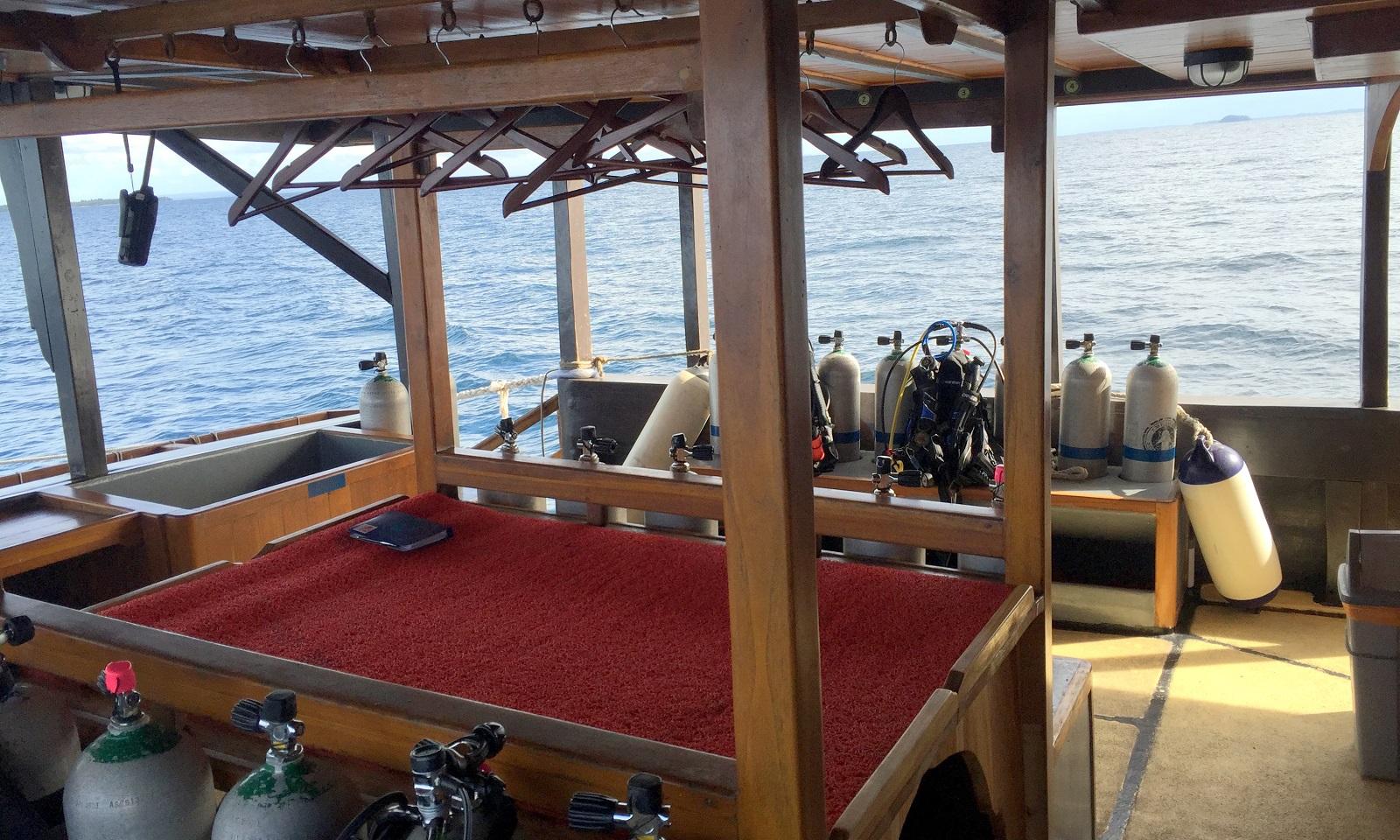 Camera & Dive Deck